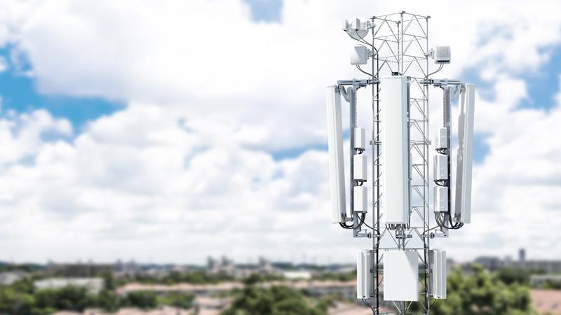 Městský vysílač 5G od švédského Ericssonu