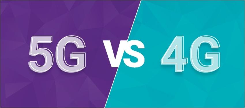 Rozdíl mezi 4G a 5G