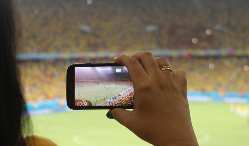 5G vylepší sportovní zážitek pro fanoušky na stadionu i diváky doma. (zdroj: Ericsson)