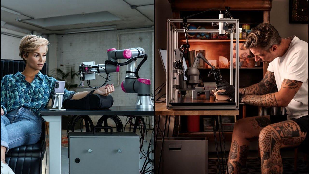 tetování 5G robot