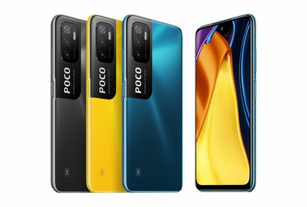 Nejlevnější 5G smartphone Poco M3 Pro 5G