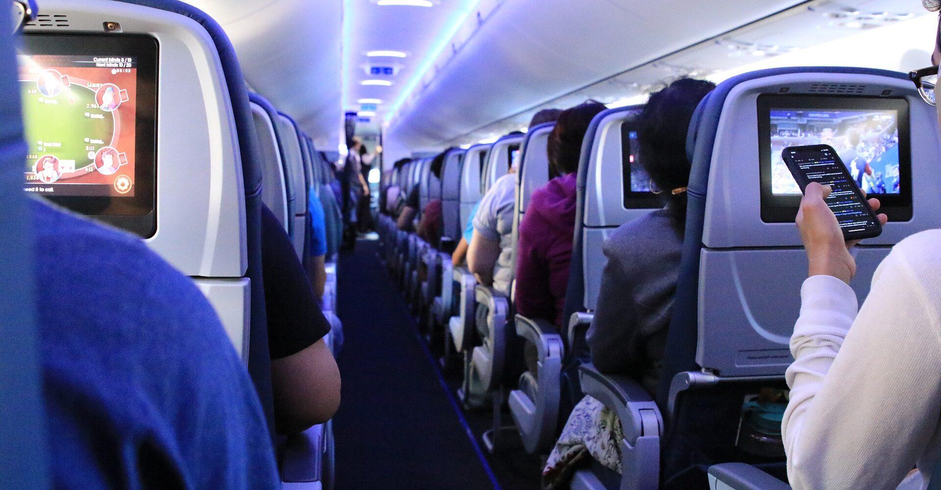 letadlo připojení