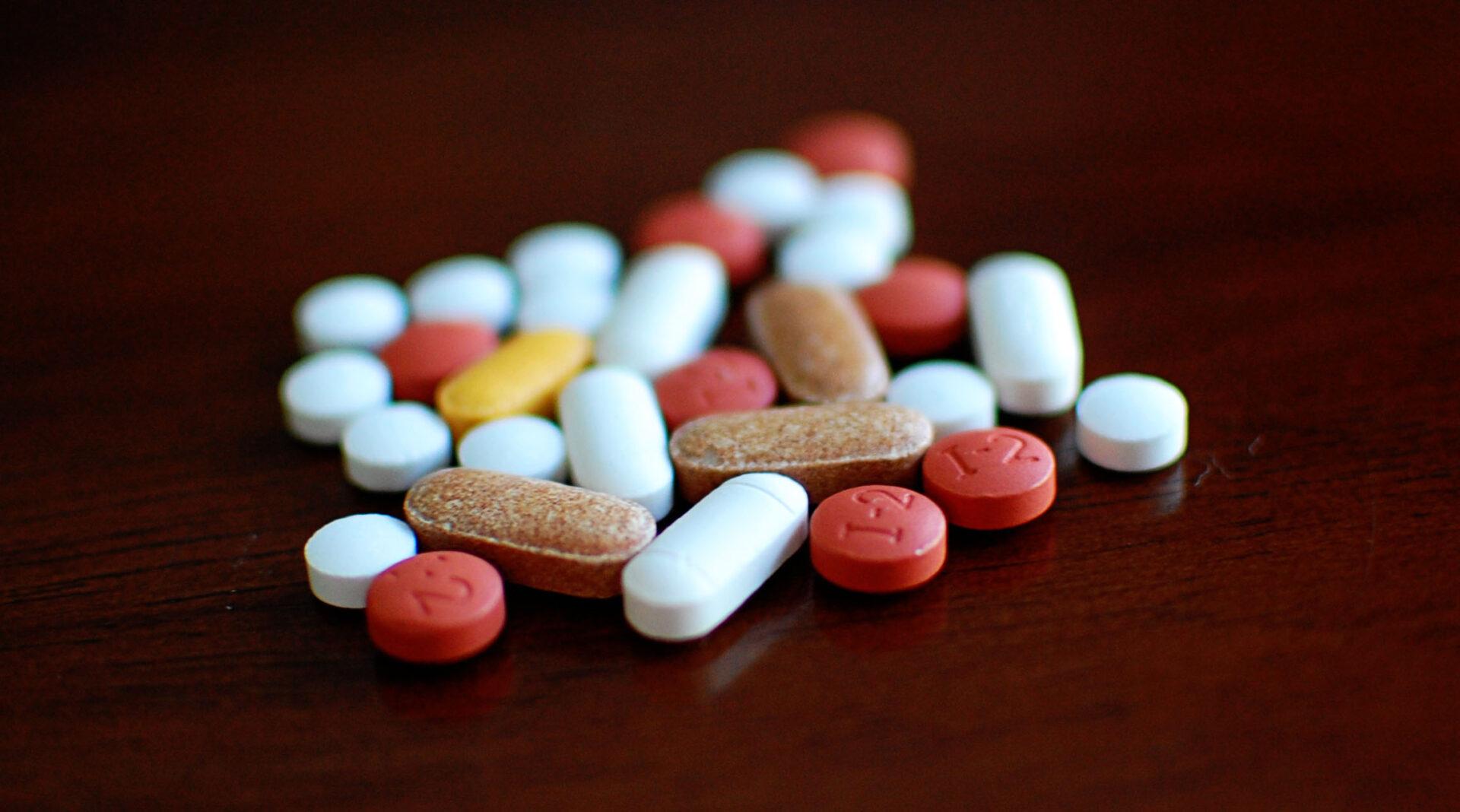 Perorální léky (foto Jamie)